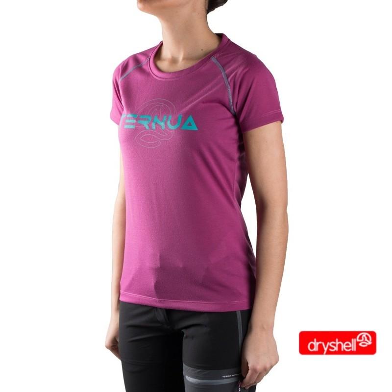 Ternua Camiseta Sotes A Rosa Mujer