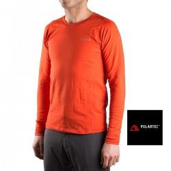 Trangoworld Camiseta térmica Polartec Tirich Teja Hombre