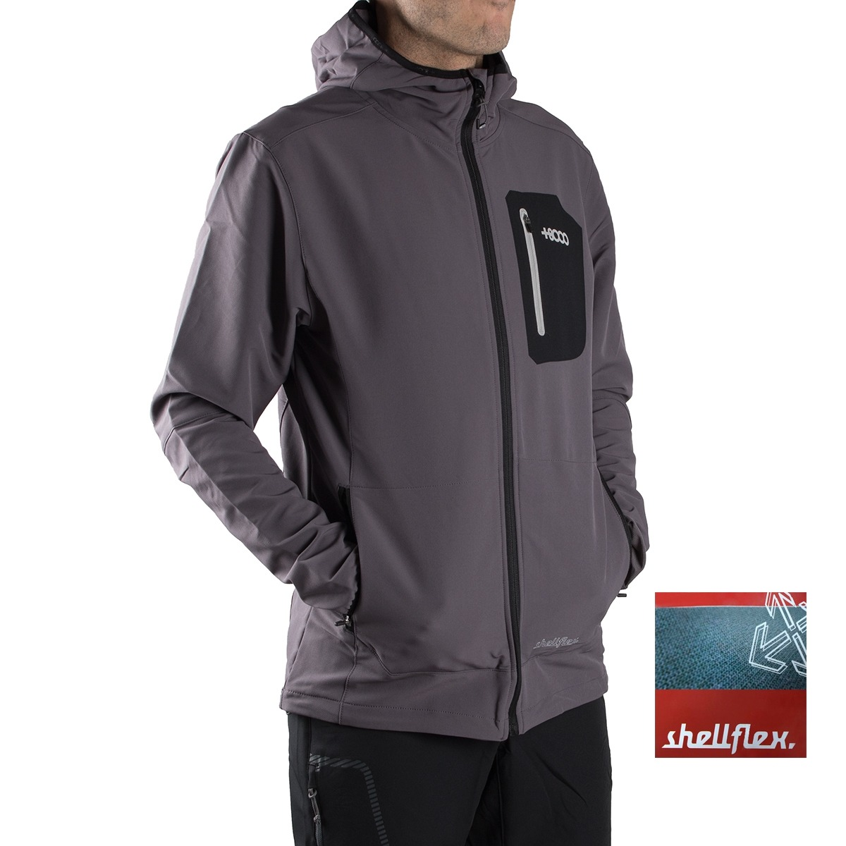 +8000 Light Softshell Olmue 18V Antracuta Hombre