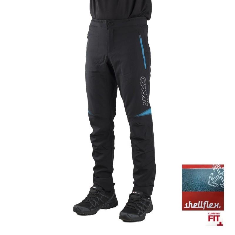 +8000 Pantalón Trivor 18V Negro Pato Azul Hombre