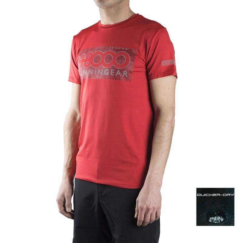 +8000 Camiseta Reclus 18V Rojo Vigore Hombre