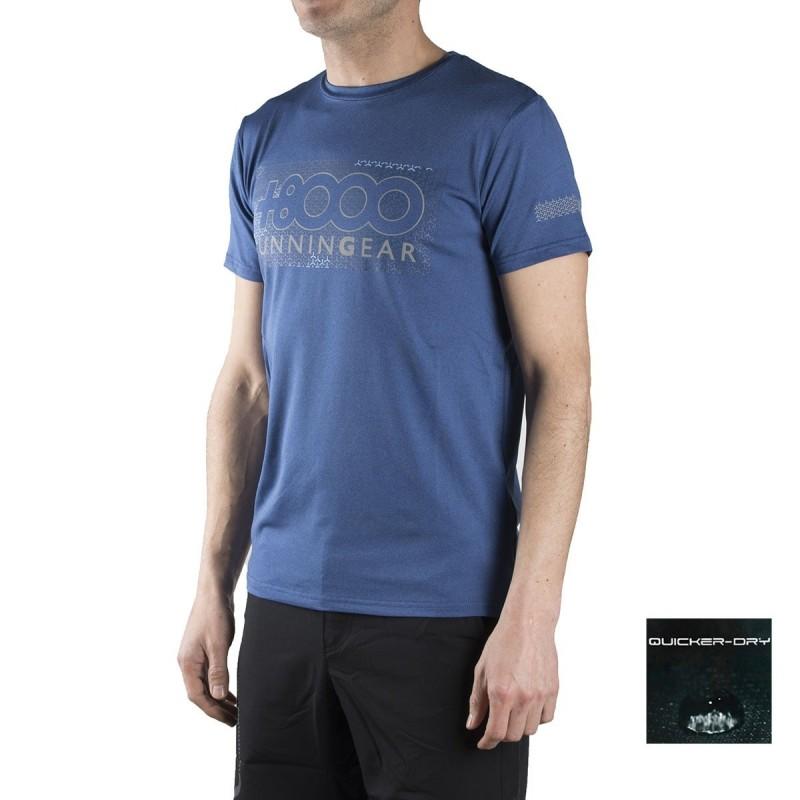 +8000 Camiseta Reclus 18V Indigo Vigore Azul Hombre
