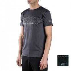 +8000 Camiseta Reclus 18V Negro Vigore Hombre