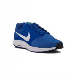 Nike Zapatillas Downshifter 7 Azul Blue White Green Strike Hombre
