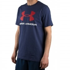 Under Armour Camiseta UA Sportstyle Azules Hombre