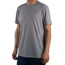 Under Armour Camiseta UA Threadborne Streaker Gris Hombre