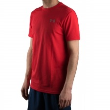 Under Armour Camiseta UA Threadborne Streaker Rojo Hombre