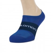 Salomon Calcetin Sonic Lime Punch Surf the web (pack 2 pares)