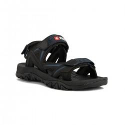 +8000 Sandalia Tabas Negro Hombre