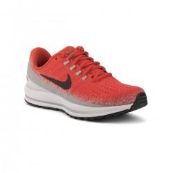 Nike Zapatillas Air Zoom Vomero 13 Habanero Red Deep Burgundy Rojo Gris Hombre