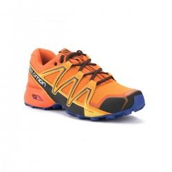 Salomon Zapatilla Speedcross Vario 2 Bright Marigold Scarlet Ibisi Naranja Azul Hombre