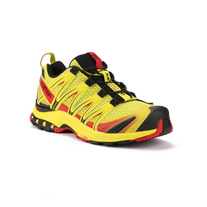 zapatos salomon amarillo zapatillas