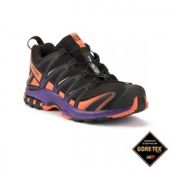 Salomon Zapatilla XA PRO 3D GTX LTD W Black Purple Negro Morado Mujer
