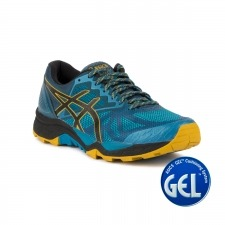 Asics Gel FujiTrabuco 6 Turkish Tile Lemon Curry Auzl Hombre