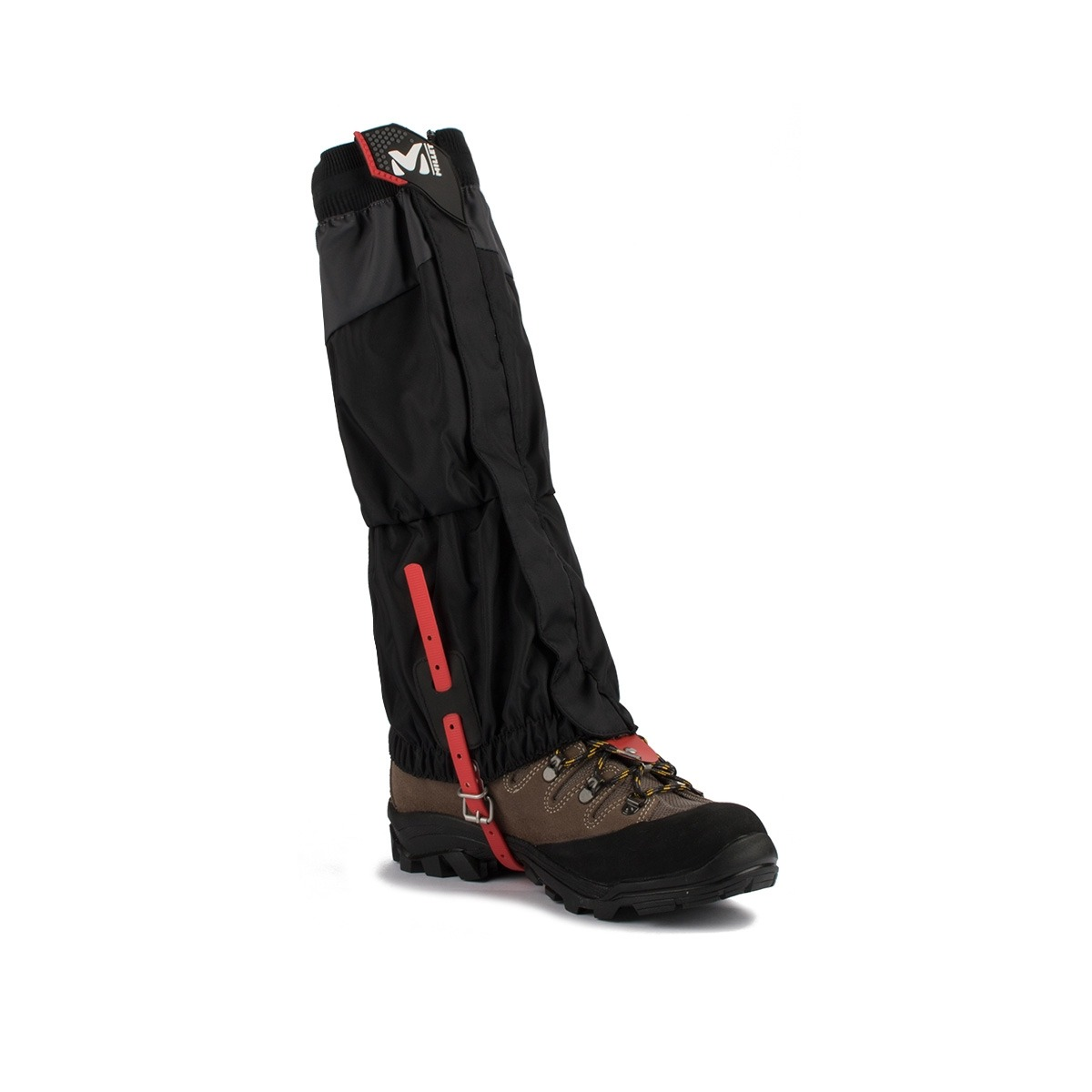 Millet polainas High Route Negro Rojo