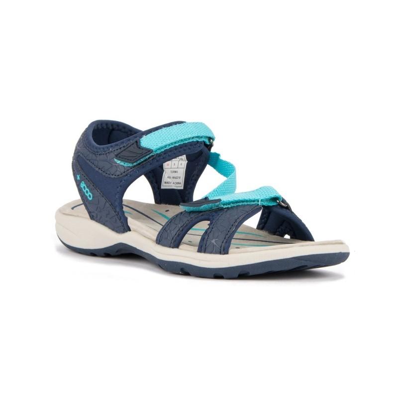+8000 Sandalia Terma 18V Azul Marino Mujer
