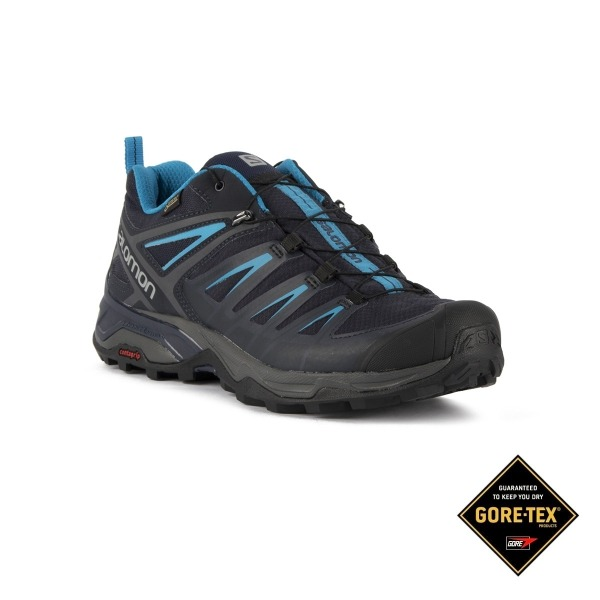 Salomon Zapatilla trailrunning X Ultra 3 GTX Graphyte Night Sky Azul  Goretex Hombre