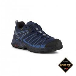 Salomon Zapatilla trailrunning X Ultra 3 Prime GTX Medieval Blue Azul Goretex Hombre