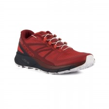 Salomon Zapatilla Sense Ride High Risk Red Navy Rojo Hombre
