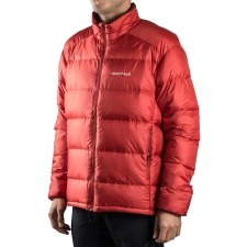 Montbell Plumas Alpine Light Down Jacket Series Rojo Hombre