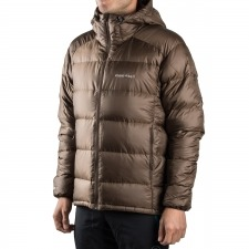 Montbell Plumas Alpine Light Down Parka Series Marrón Hombre