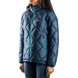 Montbell Plumas Alpine Light Down Series Azul Oscuro Mujer