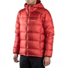 Montbell Plumas Alpine Light Down Parka Series Rojo Hombre