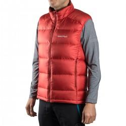 Montbell Chaleco Plumas Alpine Light Down Series Vest Rojo Hombre