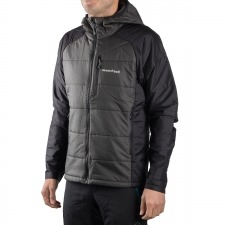 Montbell Fibra Thermawrap Parka Negro Hombre