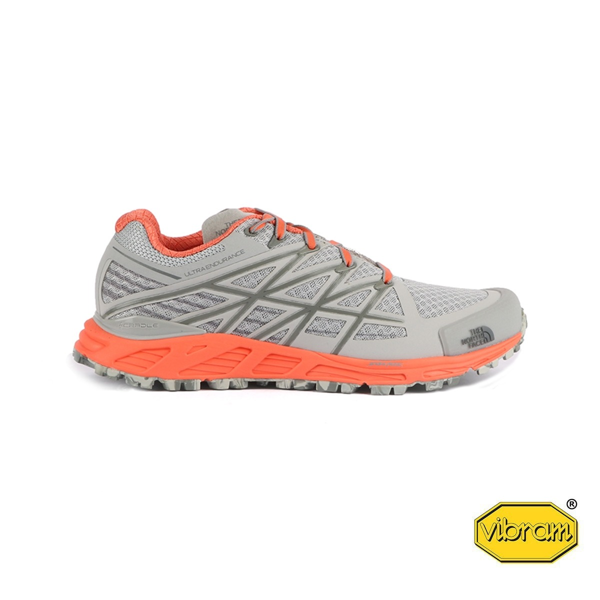 The North Face Ultra Endurance High Rise Grey Gris Coral Mujer