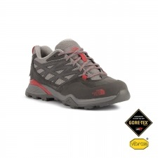 The North Face Zapatilla Hedgehog Hike GTX Gris Rojo Mujer