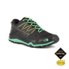 The North Face Zapatilla Hedgehog Fastpack Lite II GTX Negro Verde Gore-tex Mujer