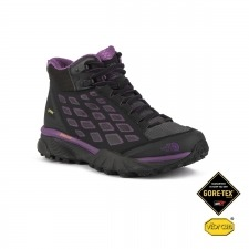 The North Face Endurus Hike Mid GTX Negro Morado Gore-tex Mujer