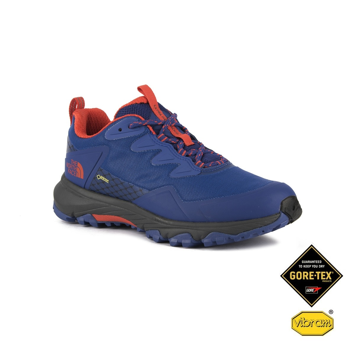 The North Face Ultra Fastpack III GTX Soldalite Blue Azul Naranja Mujer