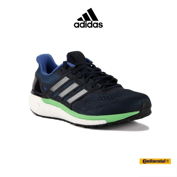 detailed look a6eaa 61489 Adidas Boost Supernova M Azul Verde Hombre