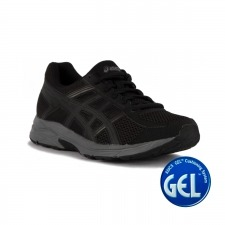 Asics Gel Contend 4 Black Dark Grey Negro Hombre