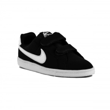 Nike Court Royale PSV Black White Negro Blanco Niño