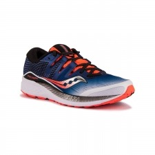 Saucony Ride Iso White Blue Vizi Red Hombre