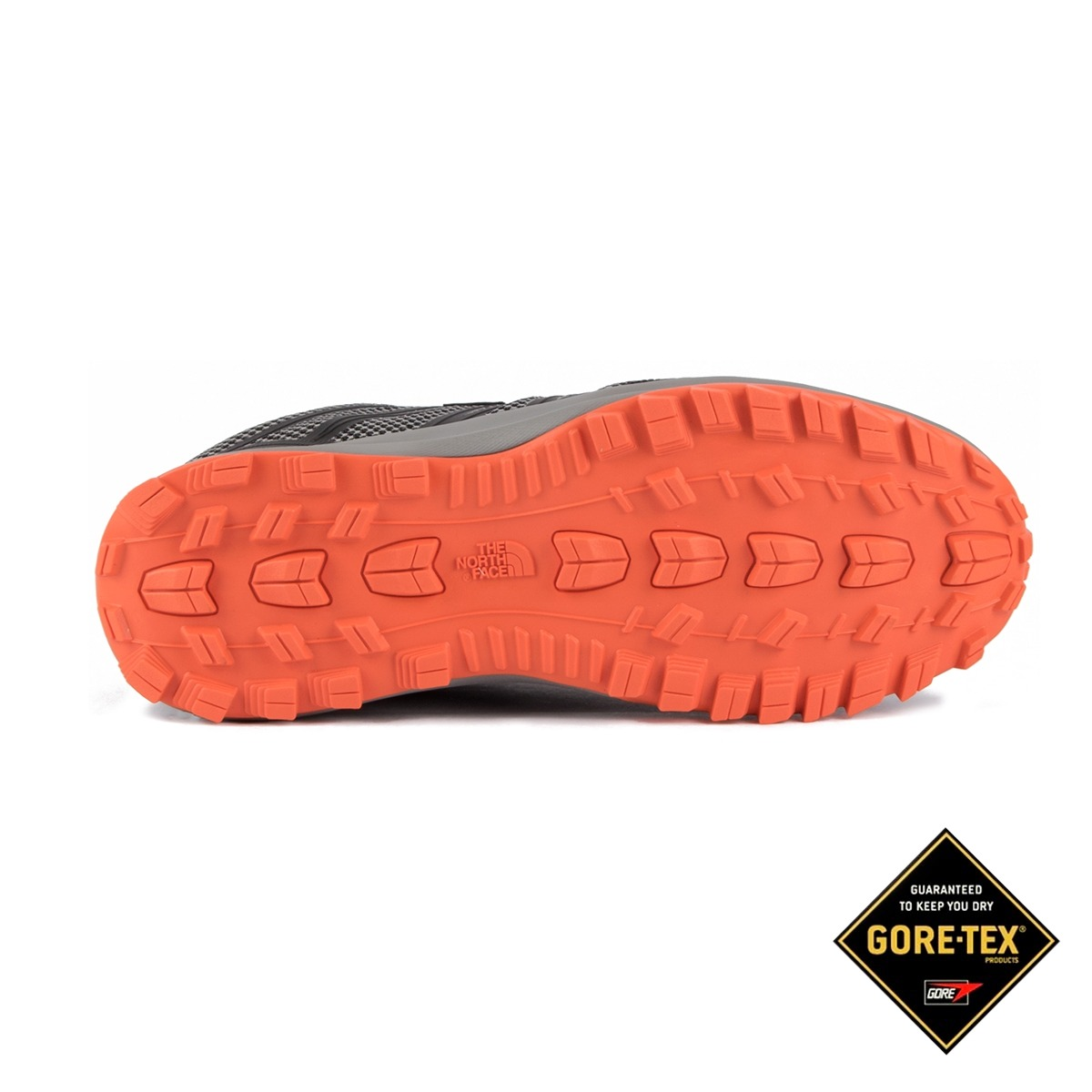 The North Face Litewave Fastpack GTX Phantom Grey Scarlet Ibis Gore-tex Hombre
