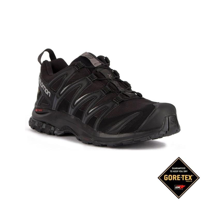 41873dcf4df5 Salomon Zapatilla trailrunning XA PRO 3D GTX Black Magnet Negro Hombre