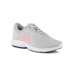 Nike Revolution 4 EU Pure Platinum Gris Rosa Mujer