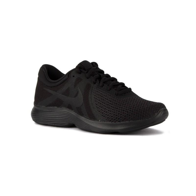 Nike Revolution 4 EU Black Black Negro Negro Hombre