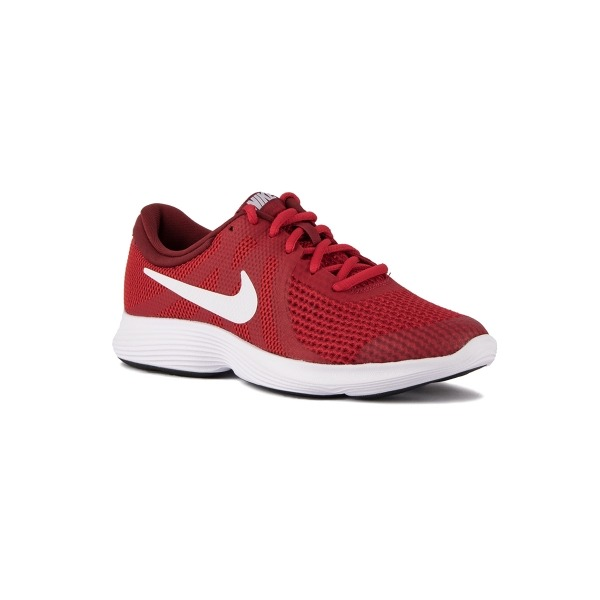9003a4e3ca1a1 Nike Revolution 4 (GS) Gym Red White Rojo Blanco Niño