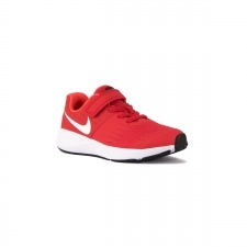 Nike Star Runner PSV Red White Rojo Blanco Niño