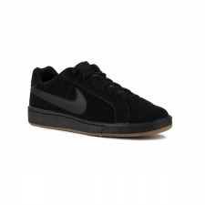Nike Zapatillas Court Royale Suede Black Brown Negro Marrón Hombre