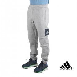 Adidas pantalón ESS BL T FL Gris Hombre