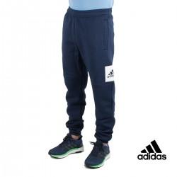 Adidas pantalón ESS BL T FL Marino Hombre