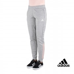 Adidas pantalón Com MS Gris Rosa Mujer