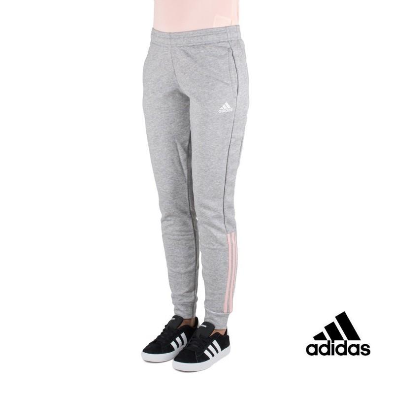 9e18d8ba9d Adidas pantalón Com MS Gris Rosa Mujer