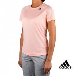 Adidas Camiseta D2M Tee Lose Rosa palo Mujer